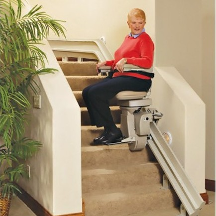 The Bruno Elite Curved Stair Lift Is Custom Measured, Designed And Built To  Fit In Your Home. Manufactured To Meet Bruno Quality Standards, ...