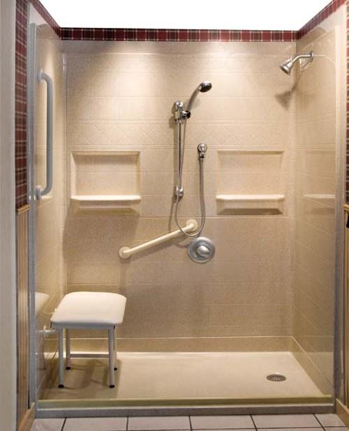 Handicap Bathroom Showers